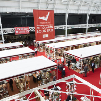 Picture of a bookfair