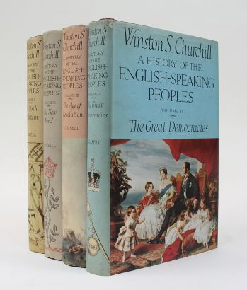 A HISTORY OF THE ENGLISH SPEAKING PEOPLES. -  image 1