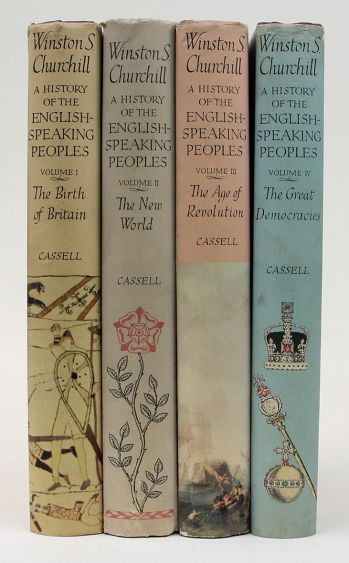 A HISTORY OF THE ENGLISH SPEAKING PEOPLES. -  image 3