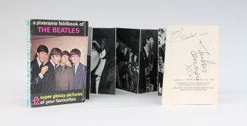 A PIXERAMA FOLDBOOK OF THE BEATLES. -  image 1