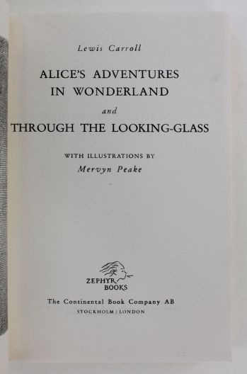 ALICE'S ADVENTURES IN WONDERLAND and THROUGH THE LOOKING GLASS -  image 2