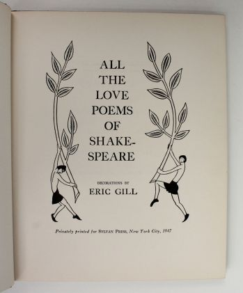 ALL THE LOVE POEMS OF SHAKESPEARE -  image 2