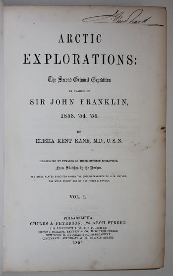 ARCTIC EXPLORATIONS IN THE YEARS 1853, 54, 55 -  image 3