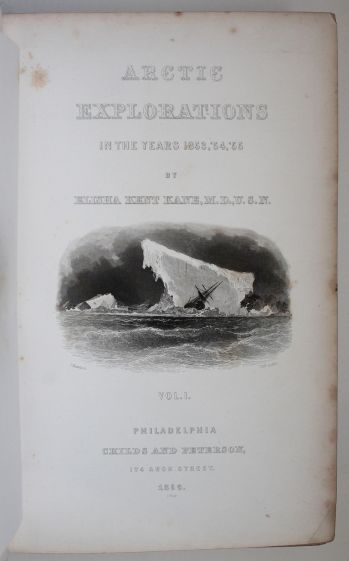 ARCTIC EXPLORATIONS IN THE YEARS 1853, 54, 55 -  image 4