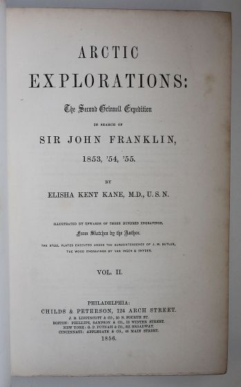 ARCTIC EXPLORATIONS IN THE YEARS 1853, 54, 55 -  image 6