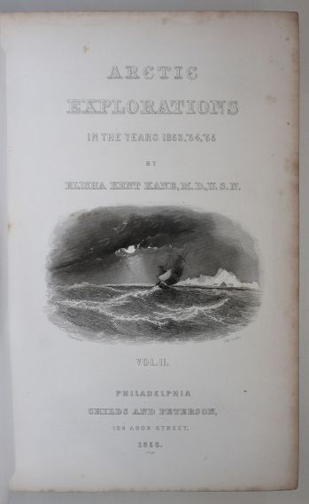 ARCTIC EXPLORATIONS IN THE YEARS 1853, 54, 55 -  image 7