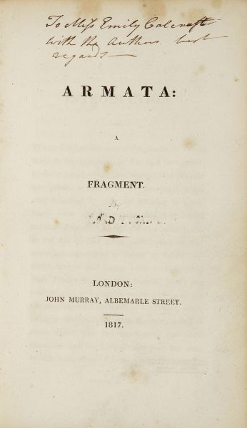 ARMATA, A Fragment; Together with -  image 4