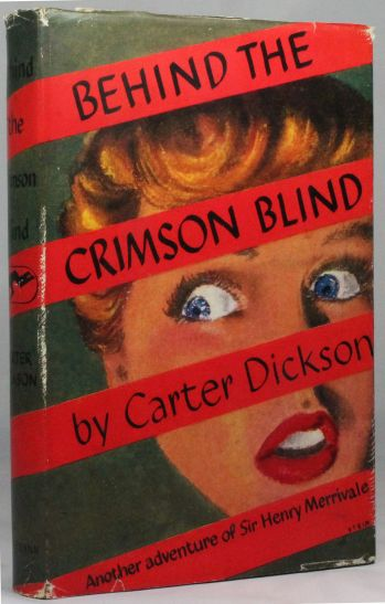 BEHIND THE CRIMSON BLIND -  image 1