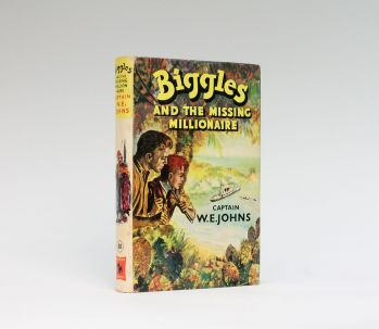 BIGGLES AND THE MISSING MILLIONAIRE -  image 1