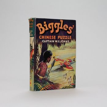 BIGGLES' CHINESE PUZZLE. -  image 1