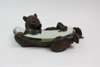 BLACK FOREST BEAR MIRROR -  image 3