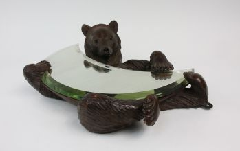 BLACK FOREST BEAR MIRROR -  image 4