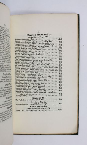 CATALOGUE OF FIRST EDITIONS OF AMERICAN AUTHORS. -  image 3