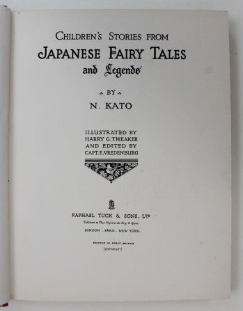CHILDREN'S STORIES FROM JAPANESE FAIRY TALES AND LEGENDS -  image 2