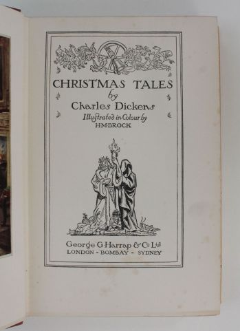 CHRISTMAS TALES. A Christmas Carol, The Chimes, The Cricket on The Hearth, The Haunted Man, -  image 3