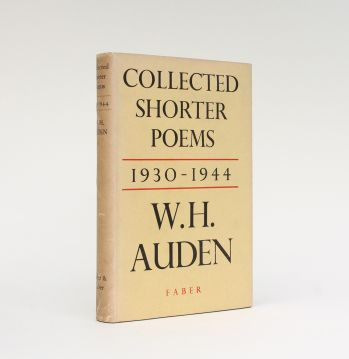 COLLECTED SHORTER POEMS 1930 - 1944 -  image 1