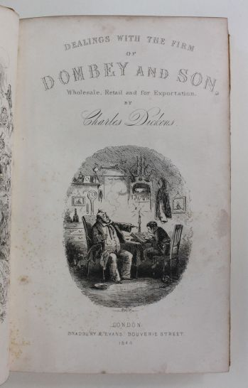 DEALINGS WITH THE FIRM DOMBEY AND SON, -  image 3