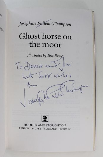 GHOST HORSE ON THE MOOR -  image 2
