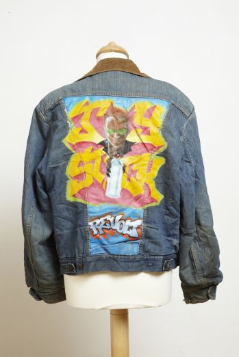 GRAFFITI DENIM JACKET -  image 1
