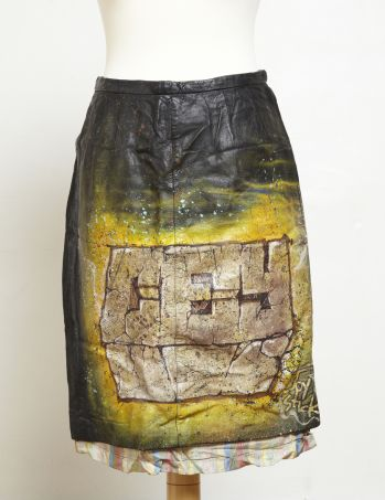 GRAFFITI SKIRT -  image 1