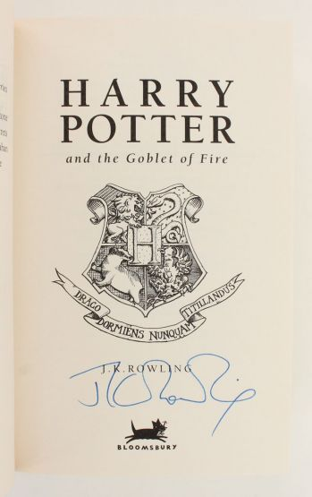 HARRY POTTER AND THE PHILOSOPHER'S STONE; HARRY POTTER AND THE CHAMBER OF SECRETS; HARRY POTTER AND THE PRISONER OF AZKABAN, HARRY POTTER AND THE GOBLET OF FIRE; HARRY POTTER AND THE ORDER OF THE PHOENIX. -  image 6