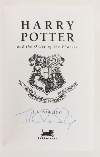 HARRY POTTER AND THE PHILOSOPHER'S STONE; HARRY POTTER AND THE CHAMBER OF SECRETS; HARRY POTTER AND THE PRISONER OF AZKABAN, HARRY POTTER AND THE GOBLET OF FIRE; HARRY POTTER AND THE ORDER OF THE PHOENIX. -  image 7