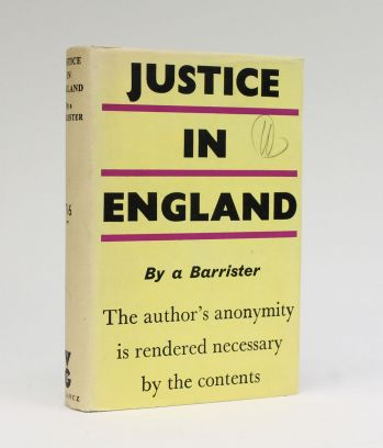 JUSTICE IN ENGLAND -  image 1
