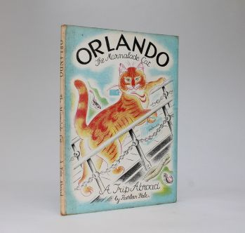 ORLANDO (THE MARMALADE CAT) A TRIP ABROAD -  image 2