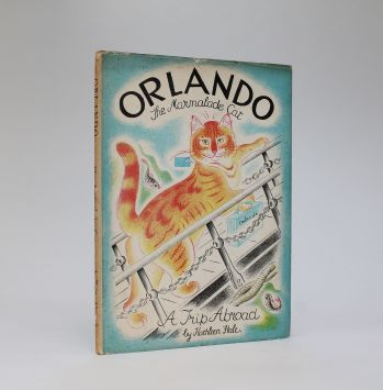 ORLANDO (THE MARMALADE CAT) A TRIP ABROAD -  image 1