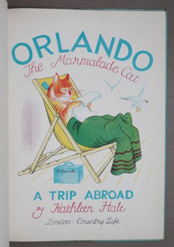 ORLANDO (THE MARMALADE CAT) A TRIP ABROAD -  image 3
