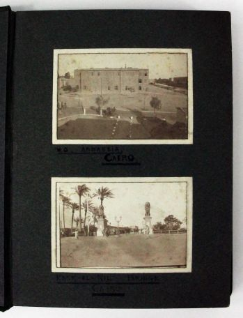 PHOTOGRAPH ALBUM AND ARCHIVE OF A SCOTTISH SOLIDER IN CAIRO -  image 2