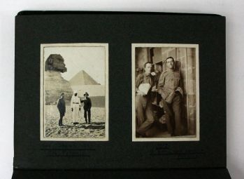 PHOTOGRAPH ALBUM AND ARCHIVE OF A SCOTTISH SOLIDER IN CAIRO -  image 3