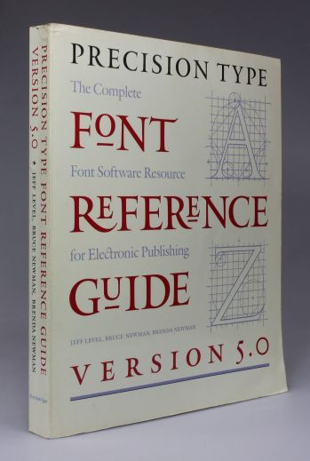 PRECISION TYPE: FONT REFERENCE GUIDE Version 5.0 -  image 1