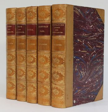 PRIDE AND PREJUDICE, SENSE AND SENSIBILITY, EMMA, MANSFIELD PARK, NORTHANGER ABBEY & PERSUASION. -  image 2