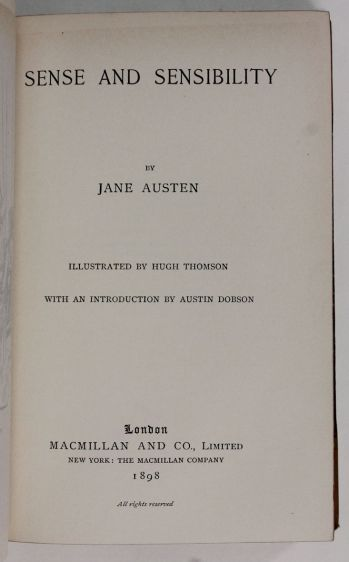 PRIDE AND PREJUDICE, SENSE AND SENSIBILITY, EMMA, MANSFIELD PARK, NORTHANGER ABBEY & PERSUASION. -  image 4