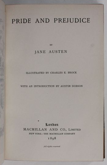 PRIDE AND PREJUDICE, SENSE AND SENSIBILITY, EMMA, MANSFIELD PARK, NORTHANGER ABBEY & PERSUASION. -  image 6