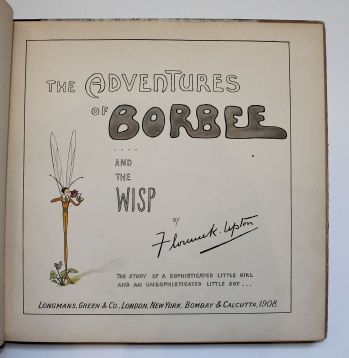 THE ADVENTURES OF BORBEE AND THE WISP: The Story of a Sophisticated Little Girl and an Unsofisticated Little Boy -  image 4