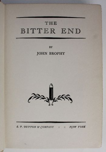 THE BITTER END -  image 2