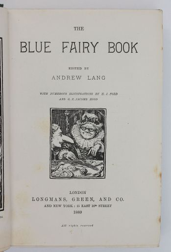 THE BLUE FAIRY BOOK -  image 3