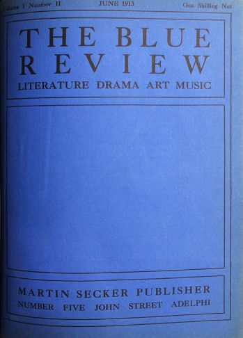 THE BLUE REVIEW. Literature Drama Art Music. -  image 2
