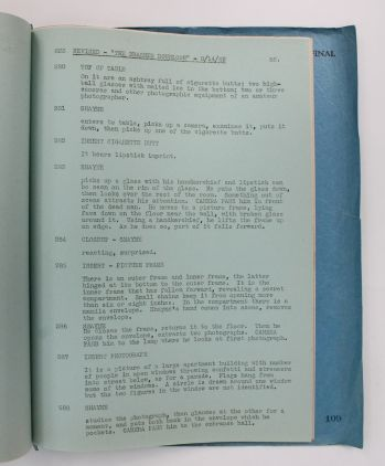 THE BRASHER DOUBLOON filmed as TIME TO KILL. The Final Shooting Script. -  image 5