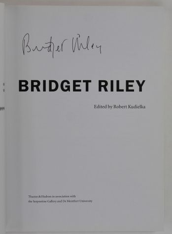 THE EYE'S MIND: BRIDGET RILEY. -  image 2