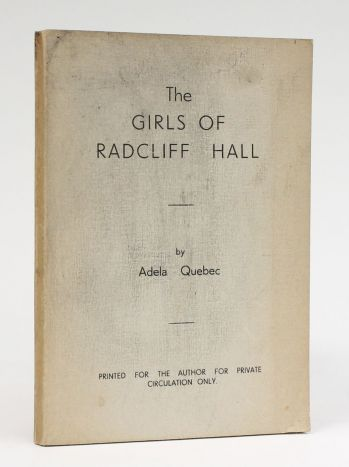 THE GIRLS OF RADCLIFF HALL -  image 1