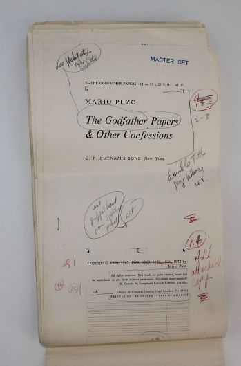 THE GODFATHER PAPERS And Other Confessions -  image 2