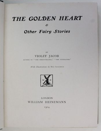 THE GOLDEN HEART AND OTHER FAIRY STORIES -  image 2