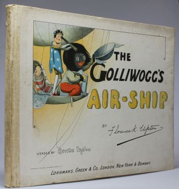 THE GOLLIWOGG'S AIRSHIP -  image 1