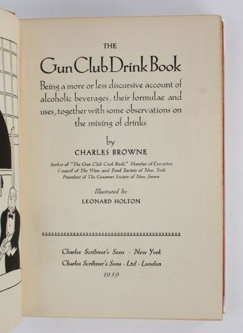 THE GUN CLUB DRINK BOOK -  image 3