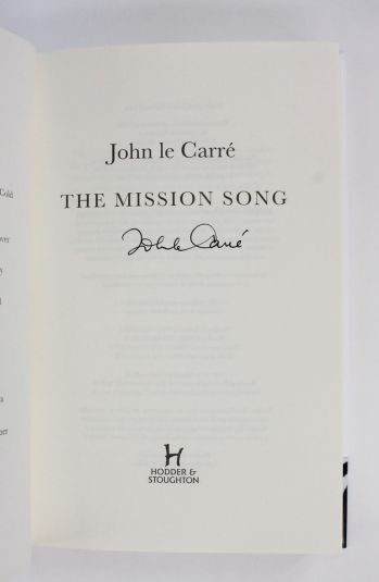 THE MISSION SONG -  image 2