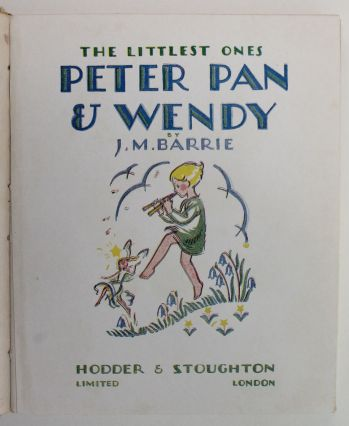 THE NURSERY PETER PAN AND WENDY -  image 3