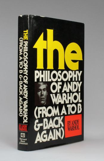 THE PHILOSOPHY OF ANDY WARHOL (FROM A TO B AND BACK AGAIN) -  image 1